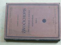 Živočichopis pro rolnické a odborné hospodářské školy (1928) upr. Lenoch