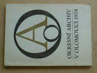 Okresní archív v Olomouci (1978)