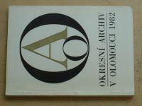 Okresní archív v Olomouci (1982)