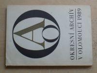 Okresní archív v Olomouci (1989)