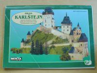 Hrad Karlštejn - papírová stavebnice modelu (Betexa 2000)