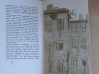 Václav Řezáč - Černé světlo (1947) obálka a ilustrace K. Lhoták