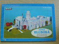 Zámek Hluboká - papírová stavebnice modelu (Betexa 2005)