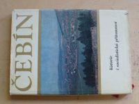 Čebín - Historie a socialistická přítomnost (1978)