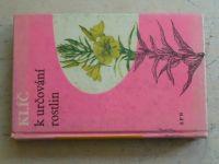 Klika - Klíč k určování rostlin (1966)
