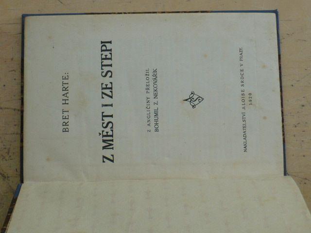 Harte - Z měst i ze stepi (1920)