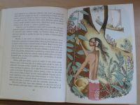 Marryat - Kormidelník Vlnovský (1945) litografie a kresby Jiří Trnka
