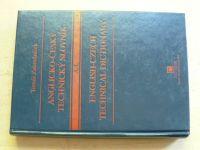 Zahradníček - Anglicko-český technický slovník A-Z (2002) dvě knihy