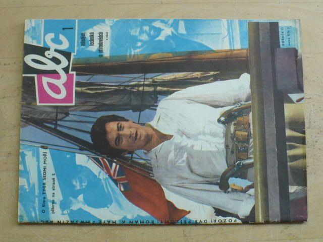 ABC 1-24 (1968-69) ročník XIII. (chybí čísla 3-5, 14, 23, 19 čísel)