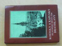 Bagin, Krajčí - Kostoly a kaplnky hlavného mesta SSR Bratislavy (1988)