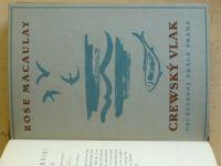 Rose Macaulay - Crewský vlak (1929) obálka Josef Čapek