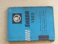 Škoda 1202 - Seznam náhradních dílů (1965-66) 4 jazyčný text
