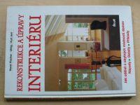 Fischer, Uhlig - Rekonstrukce a úpravy v interiéru (1996)