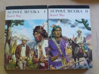 May - Supové Mexika I. II. (1973) il. Burian