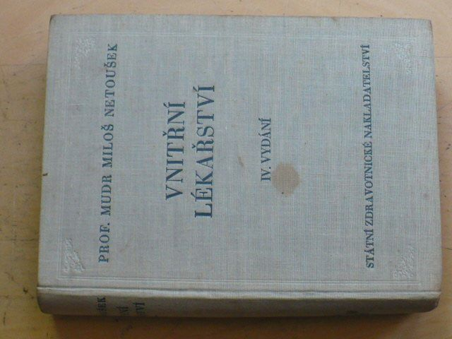 Netoušek - Vnitřní lékařství (1954)
