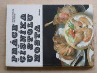 Srkala, Černý - Práce číšníka u stolu hosta - dranžírování, flambování a dochucování (1987)(