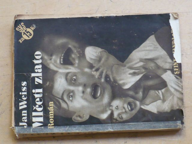Weiss - Mlčeti zlato (1933) obálka Štýrský