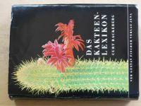 Backeberg - Das Kakteen-Lexikon (1966) německy, Lexikon kaktusů