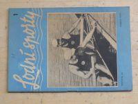 Lodní sporty 1 (1957) ročník IX.