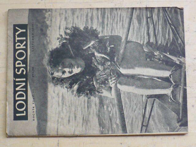 Lodní sporty 11 (1954) ročník VI.