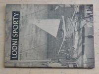 Lodní sporty 11 (1956) ročník VIII.