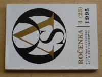 Ročenka státního kresního archivu v Olomouci 4 (1995)