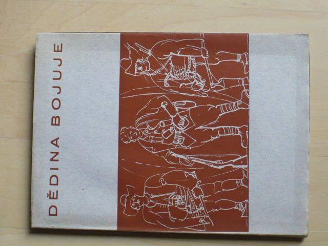 Dědina bojuje - Trojanovice v poesii a próze (1945) osvobození