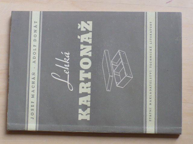 Macháň, Donát - Lehká kartonáž (1956)
