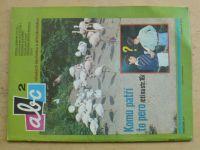 ABC 1-24 (1976-77) ročník XXI. (chybí čísla 1, 3, 5, 7-10, 12, 19, 22, 14 čísel)