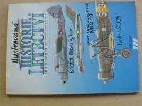 Ilustrovaná historie letectví - Bristol Beaufighter, MiG 19, Letov Š-328 (1991)