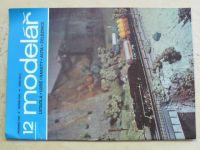Modelář 12 (1980) ročník XXXI.