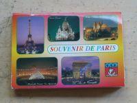 Souvenir de Paris - Monuments de Paris - 18 pohlednic