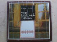 Barišová - Vzory krížikového vyšívania (1982) slovensky