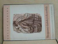 Horyna - Stopami dalekých světů  - Pověsti (1948) dřevoryty F. Michálek