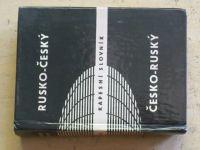 Rusko-český česko-ruský kapesní slovník (1986)