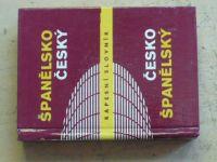 Španělsko-český česko-španělský kapesní slovník (1990)
