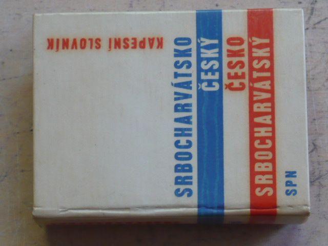 Srbocharvátsko-český česko-srbocharvátský kapesní slovník (1963)
