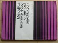 Tabarka - Metodika lázeňské léčby u nemocí psychických (1971)
