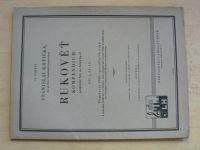 Krtička - Rukověť - Kompendium praktické hry na klarinet I. (1948)