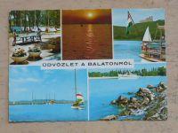 Maďarsko - Üdvözlet a Balatonról