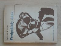 Bohumil Kubišta - Předpoklady slohu (1947) typogr. úprava Teige