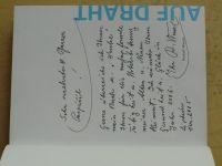 Wanzl - Auf Draht (2005) podpis a věnování autora