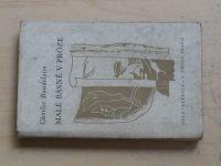 Baudelaire - Malé básně v próze (1946)
