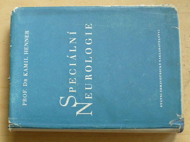Henner - Speciální neurologie pro mediky a lékaře (1953)