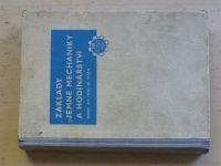 Ing. Hajn - Základy jemné mechaniky a hodinářství (SNTL 1953)
