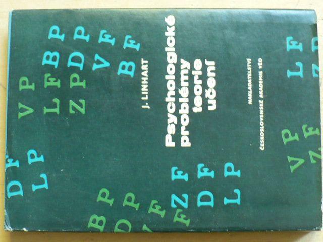 Linhart - Psychologické problémy teorie učení (1965)