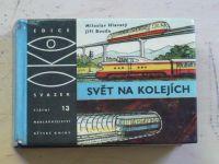 OKO 13 - Hlavatý - Svět na kolejích (SNDK 1964) il. Jiří Bouda
