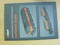 Motorová lokomotiva řady 754 + plošinový vůz 1:87 - AWT