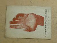 České moderní sochařství - od Gutfreunda k Wagnerovi (1944) Vilímkova galerie