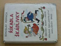 Pernica - Říkadla a škádlivky I. (1952)